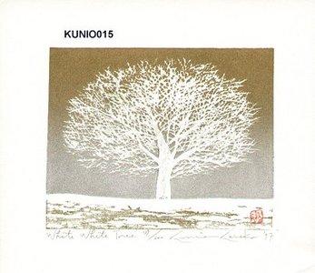Kaneko, Kunio: White White Tree - Asian Collection Internet Auction