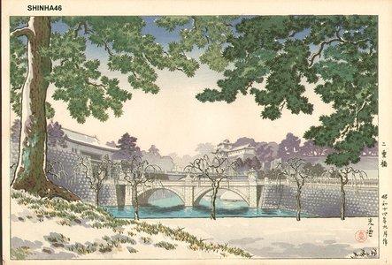 風光礼讃: Nijubashi Bridge - Asian Collection Internet Auction