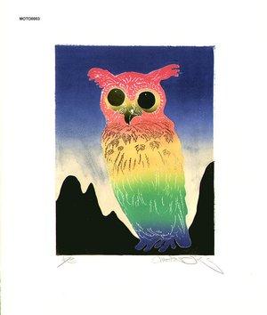 Oi, Motoi: Owl - Asian Collection Internet Auction