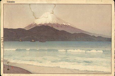 Yoshida Hiroshi: Fujiyama from Nikko - Asian Collection Internet Auction