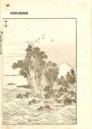 葛飾北斎: Fuji and Sea - Asian Collection Internet Auction