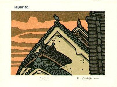 Nishijima Katsuyuki: SHAJITU (the evening sun) - Asian Collection Internet Auction