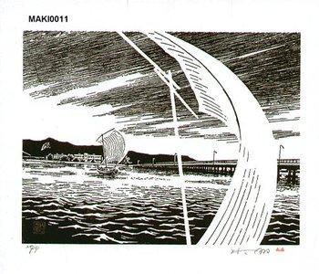 Maki Haku: Sailboat - Asian Collection Internet Auction