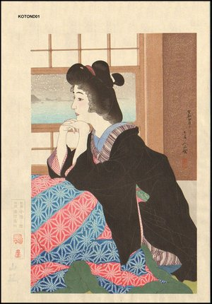 鳥居言人: 12 Aspects of Women, YUKI (Snow) - Asian Collection Internet Auction