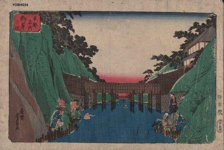 Utagawa Yoshikazu: OCHANOMIZU - Asian Collection Internet Auction