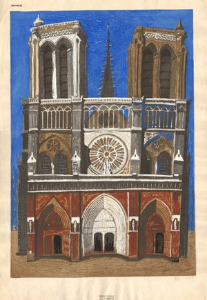 Sekino, Junichiro: Notre Dame de Paris - Asian Collection Internet Auction