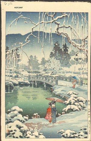 風光礼讃: Kyoto Maruyama, Spring Snow - Asian Collection Internet Auction