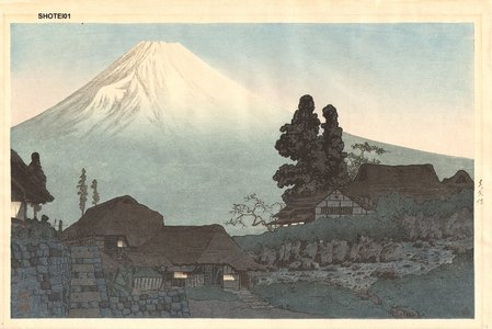 Takahashi Hiroaki: Fuji from Mizukubo - Asian Collection Internet Auction