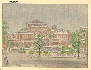 Tokuriki Tomikichiro: Tokyo Imperial Hotel - Asian Collection Internet Auction