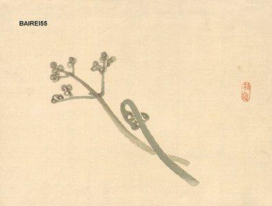 幸野楳嶺: Spring shoots - Asian Collection Internet Auction