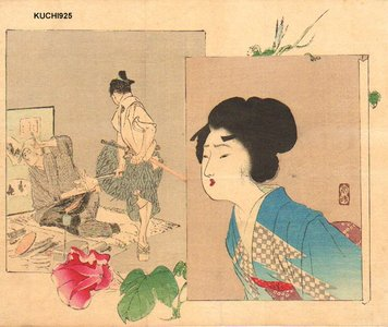Tomioka Eisen: BIJIN, samurai, and craftsman - Asian Collection Internet Auction