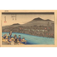 歌川広重: Views of Kyoto, Shijo - Asian Collection Internet Auction