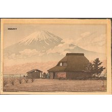 Kawase Hasui: NARUSAWA NO FUJI (Mt. Fuji, Narusawa) - Asian Collection Internet Auction