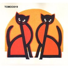 Inagaki Tomoo: Cat - Asian Collection Internet Auction