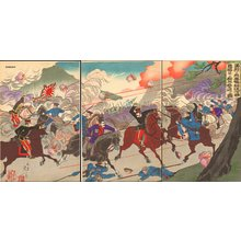 Watanabe Nobukazu: Russo-Japanese War - Asian Collection Internet Auction