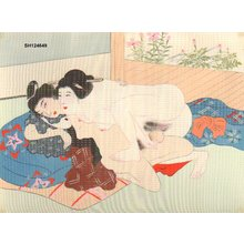 Not signed: Wife and young man - Asian Collection Internet Auction