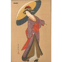 Eishi: BIJIN (beauty) with umbrella - Asian Collection Internet Auction