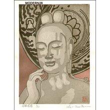 Tomita, Syo: MIROKU BOSATSU buddha - Asian Collection Internet Auction