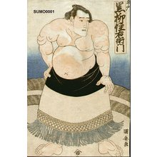 歌川国安: KUROYANAGI - Asian Collection Internet Auction