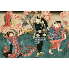 Utagawa Kunisada: Kabuki scene - Asian Collection Internet Auction