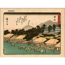 Utagawa Hiroshige: Hamamatsu - Asian Collection Internet Auction