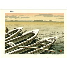 Nishijima Katsuyuki: Lake in the Morning - Asian Collection Internet Auction