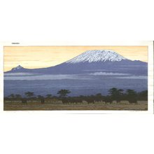 Yoshida Hiroshi: Kilimanjaro (Evening) - Asian Collection Internet Auction