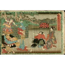 歌川国貞: Act 3 - Asian Collection Internet Auction