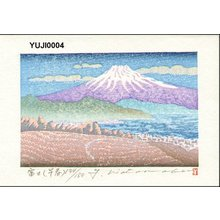Watanabe, Yuji: Mt. Fuji (early spring) - Asian Collection Internet Auction