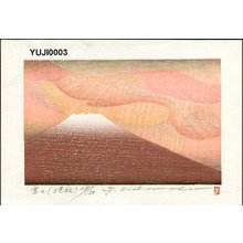 Watanabe, Yuji: Mt. Fuji (late autumn) - Asian Collection Internet Auction