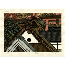Nishijima Katsuyuki: The Way to Mt. Atago, Kyoto - Asian Collection Internet Auction