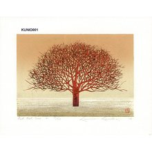 Kaneko, Kunio: Red Red Tree 2 - Asian Collection Internet Auction