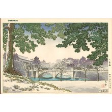 風光礼讃: Nijubashi Bridge - Asian Collection Internet Auction