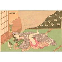 鈴木春信: Beauty dreaming - Asian Collection Internet Auction