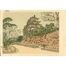 Okiie: Plum Blossoms at Nagoya Castle - Asian Collection Internet Auction