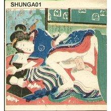 Utagawa Kunimasu: Couple - Asian Collection Internet Auction