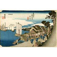 Utagawa Hiroshige: Sunrise at Shinagawa - Asian Collection Internet Auction