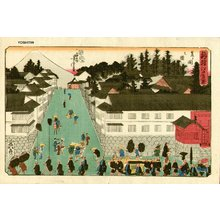 Utagawa Yoshitora: Fuji - Asian Collection Internet Auction
