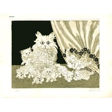 Oi, Motoi: Cat and 8 Kittens - Asian Collection Internet Auction
