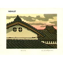 Nishijima Katsuyuki: YUGUMO (Evening Clouds) - Asian Collection Internet Auction