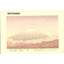 Watanabe, Yuji: Mt. Fuji (autumn) - Asian Collection Internet Auction