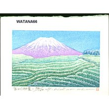 Watanabe, Yuji: Mt. Fuji (early summer) - Asian Collection Internet Auction