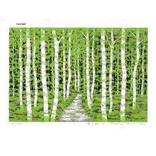 FUJITA, Fumio: MORI-NO-MICHI D (Forest Oath D) - Asian Collection Internet Auction