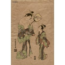 Toyonobu: BINJIN-E (beauty print) - Asian Collection Internet Auction