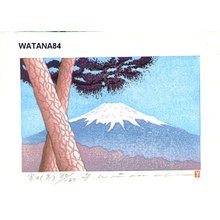 Watanabe, Yuji: FUJI FUYU (Mt. Fuji Winter) - Asian Collection Internet Auction