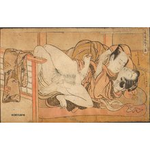 Isoda Koryusai: SHUNGA (literally spring pictures) - Asian Collection Internet Auction