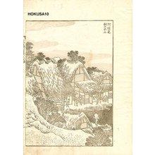 Katsushika Hokusai: Fuji behind the Village - Asian Collection Internet Auction