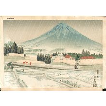 徳力富吉郎: Fuji Rain - Asian Collection Internet Auction