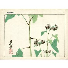 柴田是眞: Floral - Asian Collection Internet Auction