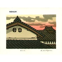 Nishijima Katsuyuki: YUUGUMO (cloud in the evening) - Asian Collection Internet Auction